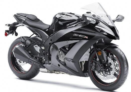 Kawasaki Ninja Grey. I want a crotchrocket SO BAD & one day, I WILL have one!