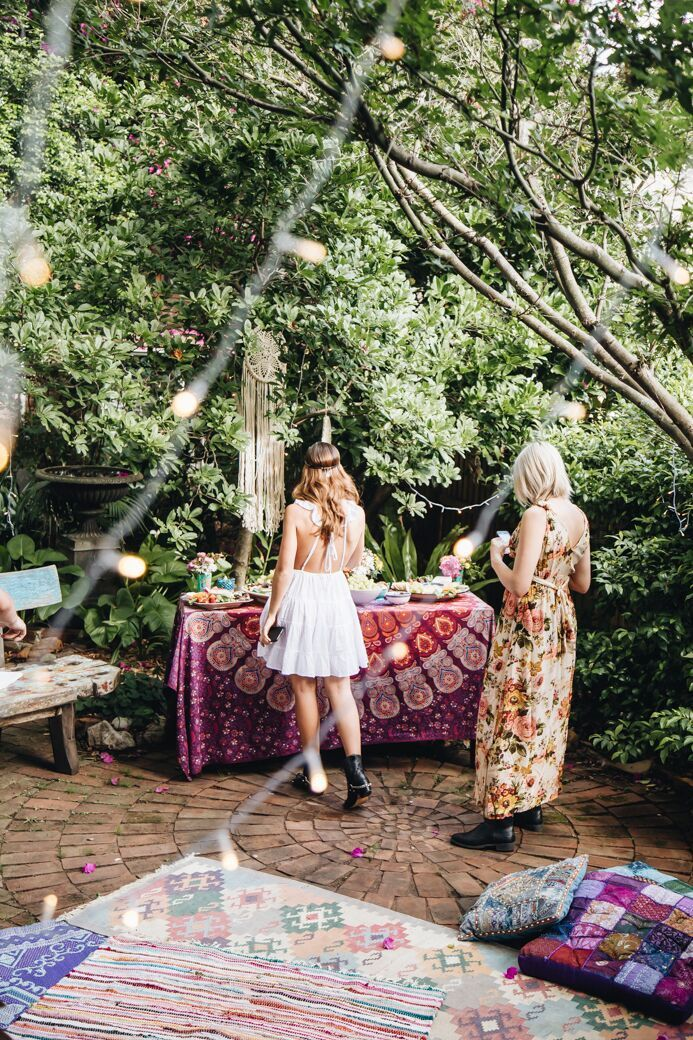 Tree of Life Blog: A Magical Christmas Party photography by Britt Murphy Creative.  #Boho #Party