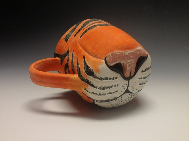 82 best images about clay animal mugs on pinterest for Animal face mugs