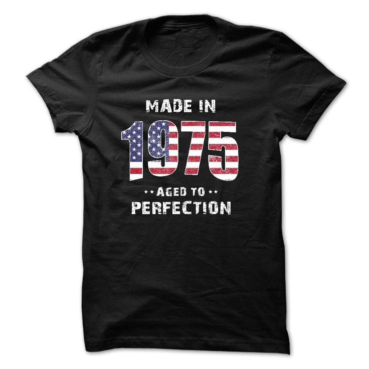 Made In 1975 - Perfection American Flag T-Shirts. 1975 Shirt The 1975 Tour Shirt The 1975 Tee Shirts 1975 Band T Shirt T Shirt 1975 1975 Tee Shirt The 1975 Band Shirts. #birthday #1975 http://tshirts.salalo.com/2016/03/made-in-1975-perfection-american-flag-t-shirts.html