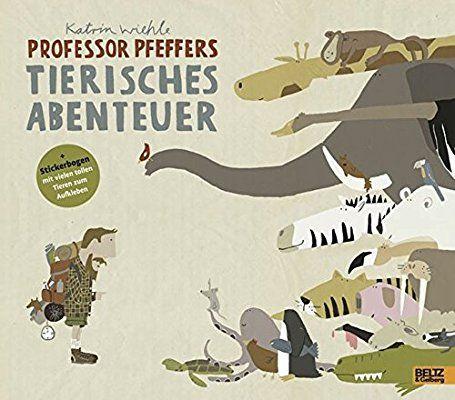 Professor Pfeffers tierisches Abenteuer: Ein Schau- und Suchbuch. Vierfarbiges Bilderbuch