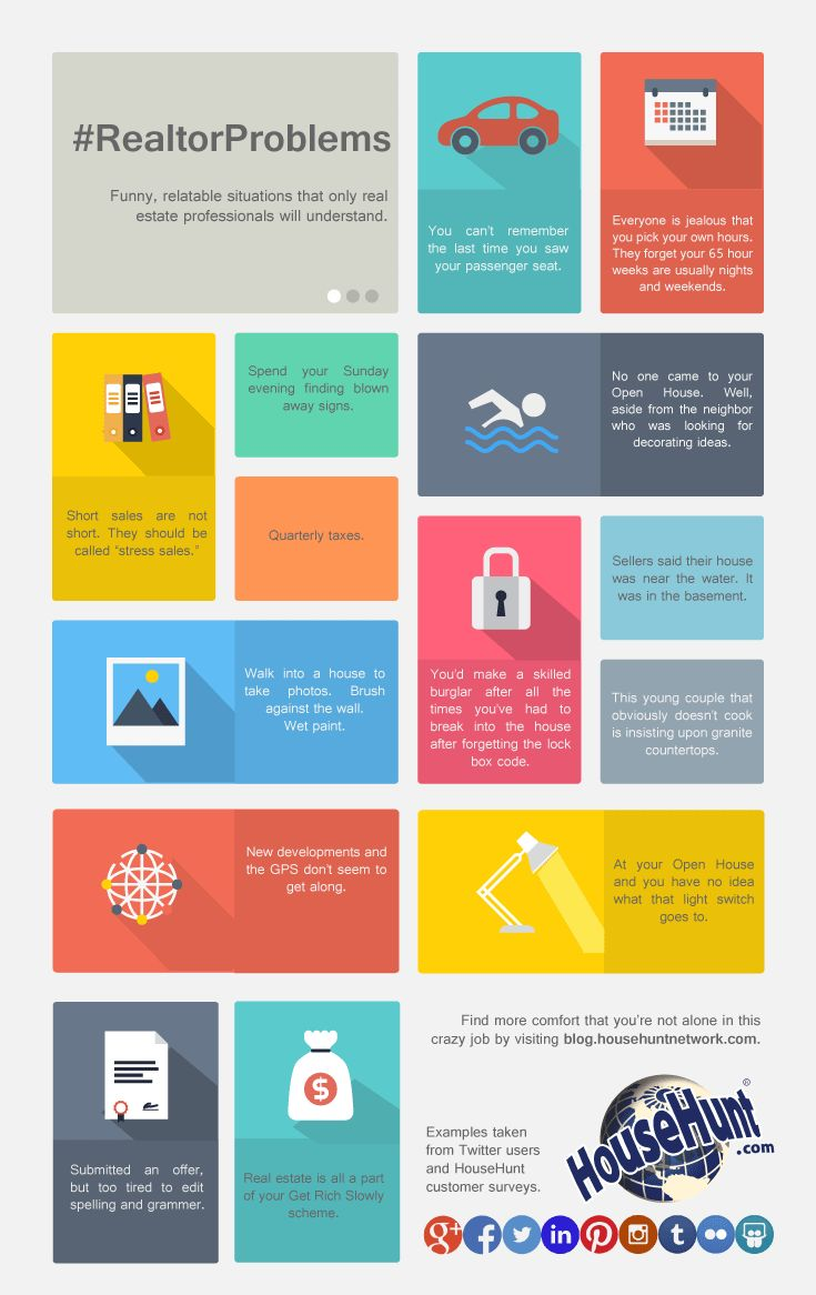 Realtor Problems 14 Problems Only Realtors Will Understand [Infographic]  Rick Pulciani Orland Park, IL