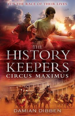 The History Keepers: Circus Maximus, Damian Dibben