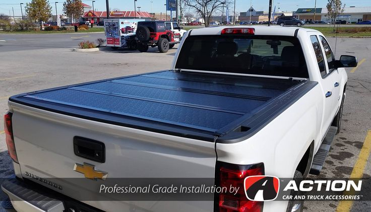 Fibermax tonneau cover by Bak Industries installed on this 2016 Chev by our store in London, ON #ProfessionalGradeInstallation
