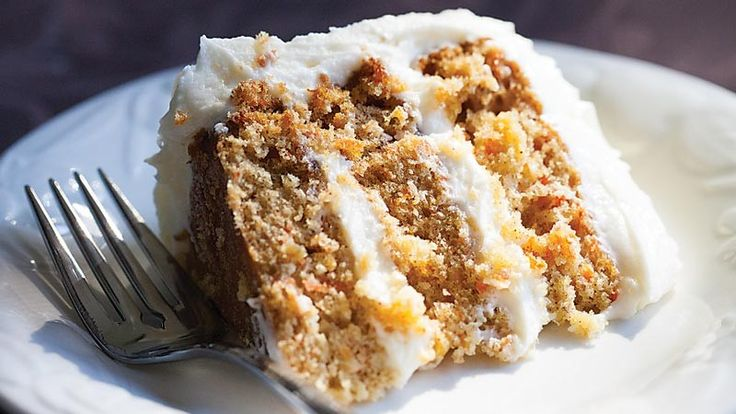 » Carrot Cake with Cream-Cheese Icing