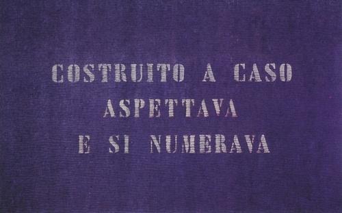 vincenzo agnetti, ritratto di ignoto, 1970
