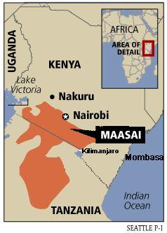 Maasai People, Kenya
