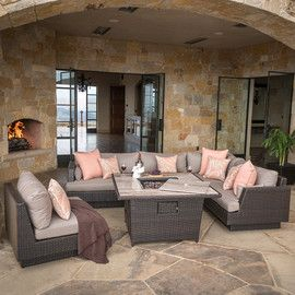 outdoor fire pit tables rst brands - Rst Brands