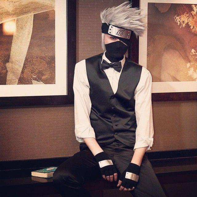 Yo ~ come chillin with me ;) #kakashi #cosplay #suki #suit