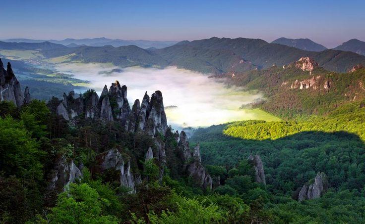Súľovské skaly, Slovakia