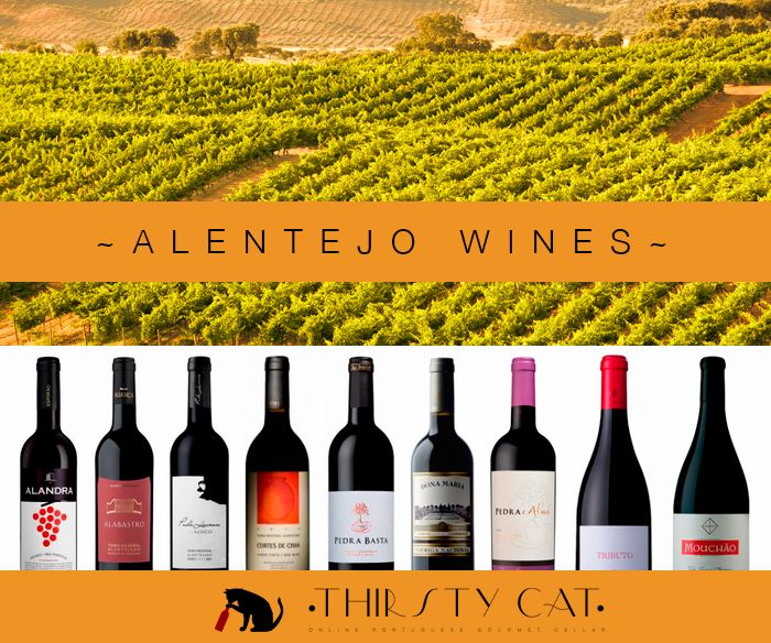 Alentejo wine are known for their soft and rich qualities: silky, young and fragrant, full of ripe fruit. Order now your package! :D http://www.thirsty-cat.com/category/alentejo