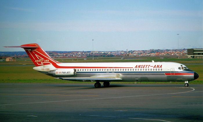 Ansett McDonnell Douglas DC-9-30 (VH-CZF)
