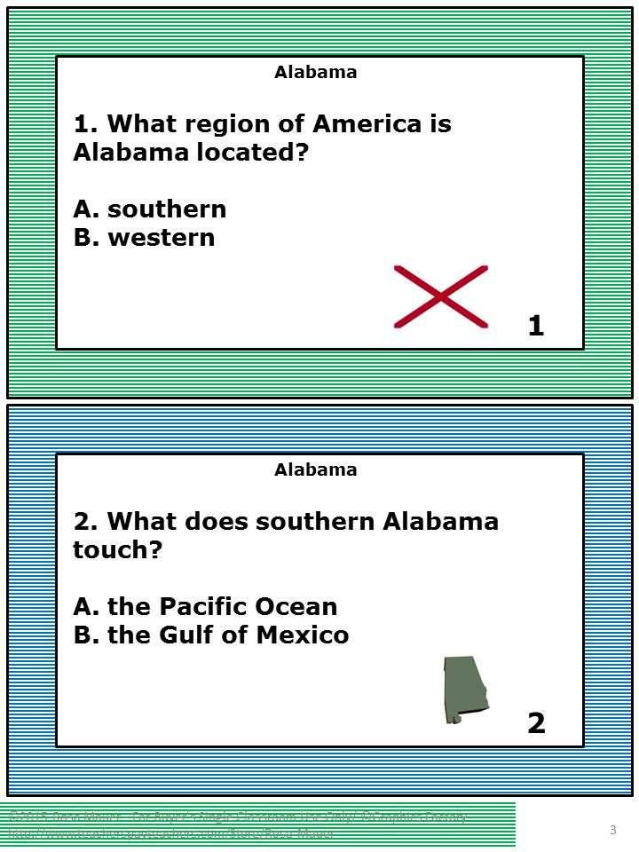124 best Rosa\'s State Facts and Social Studies Task Cards and ...