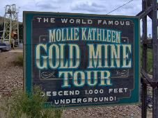 Mollie Kathleen Gold Mine, near Cripple Creek, Colorado