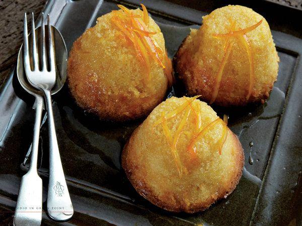 bitesize orange puddings