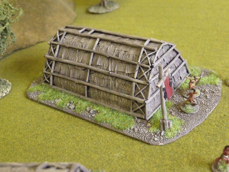 build a model long house | Don't throw a 1: How to build No1 - FIW Indian Longhouses