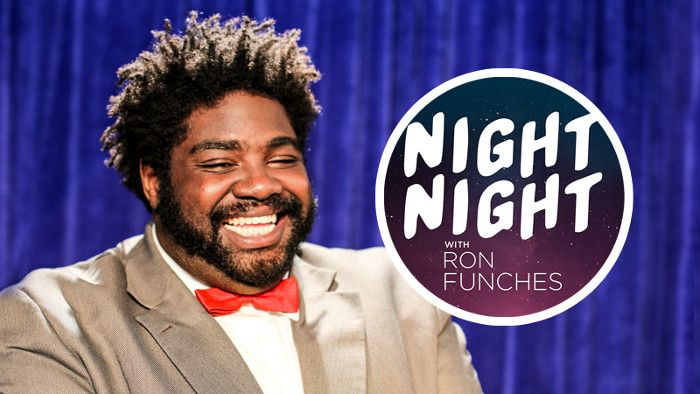 Comedian Ron Funches packs an entire late-night talk show into less than five minutes. (VIDEO)