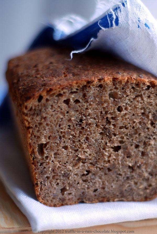 Trufla: Chleb z kaszą gryczaną.