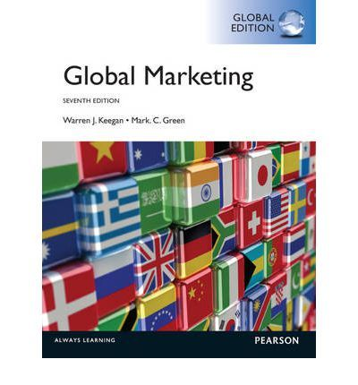 This is one of the books for my current studies :) For undergraduate and graduate global marketing courses. The excitement, challenges, and controversies of global marketing. Global Marketing strives to reflect current issues and events while offering conceptual and analytical tools that will help readers apply the 4Ps to global marketing.