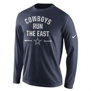 Nike Dallas Cowboys Navy Blue 2014 NFC East Division Champions T-Shirt - FansEdge.com