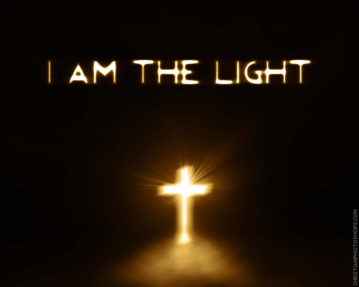 Jesus is the Light of the world. ~John 8:12