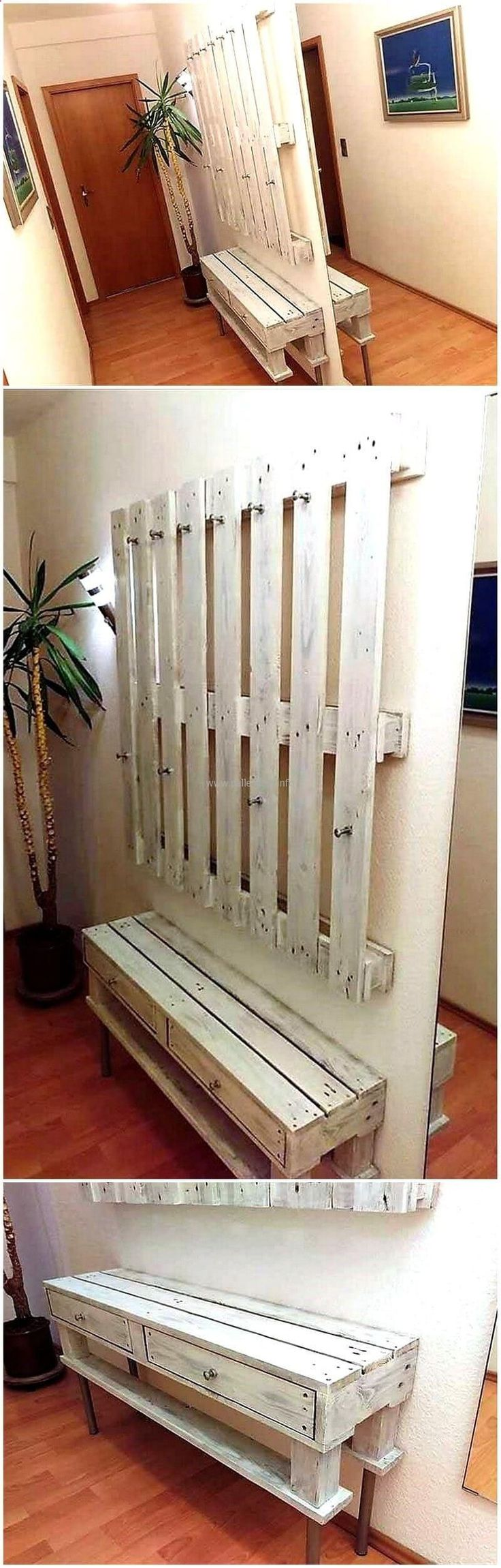 20 best diy entryway ideas images on pinterest creative ideas entryway storage and bricolage. Black Bedroom Furniture Sets. Home Design Ideas