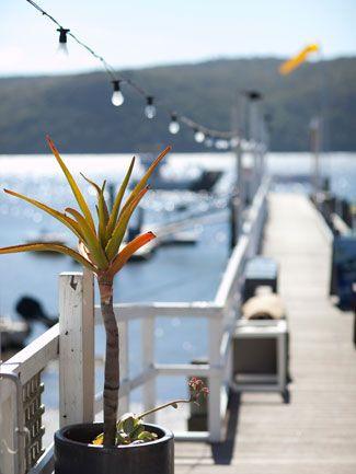The Boathouse bar/restaurant, Palm Beach, Sydney