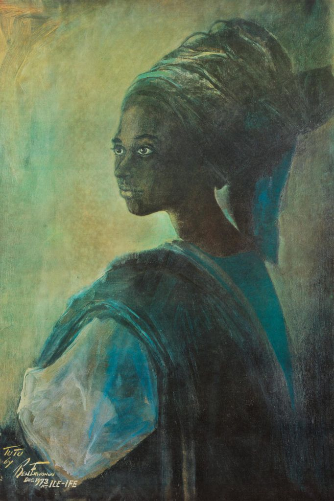A Family Found A Long Forgotten Portrait Of Their Mother In Storage It Turns Out It S By One Of Africa S Most Fa Contemporary African Art Painting African Art