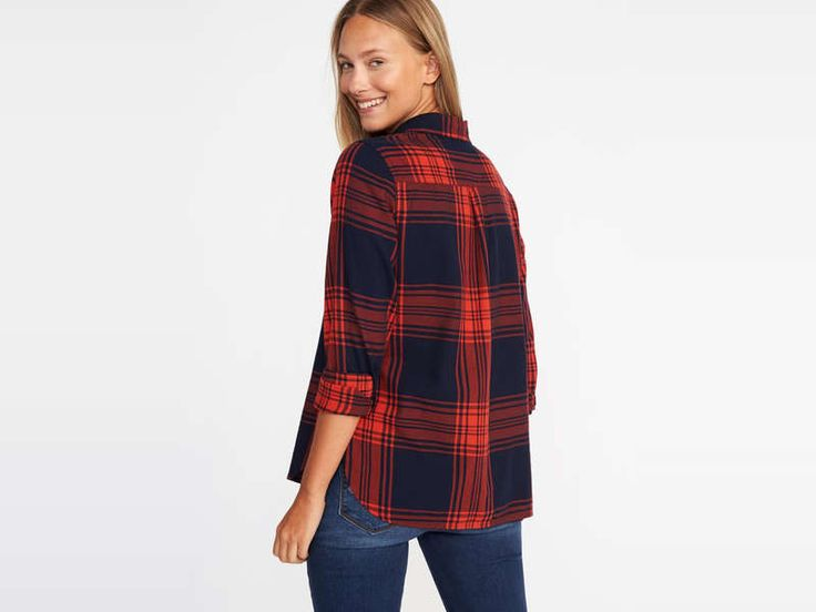 Rank & Style - Best Women's Flannel Shirts #rankandstyle