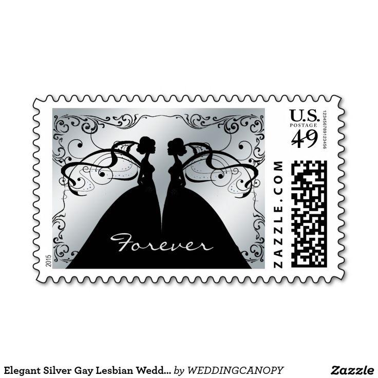 Shop Elegant Lesbian Gay Wedding Invitation created by WEDDINGCANOPY