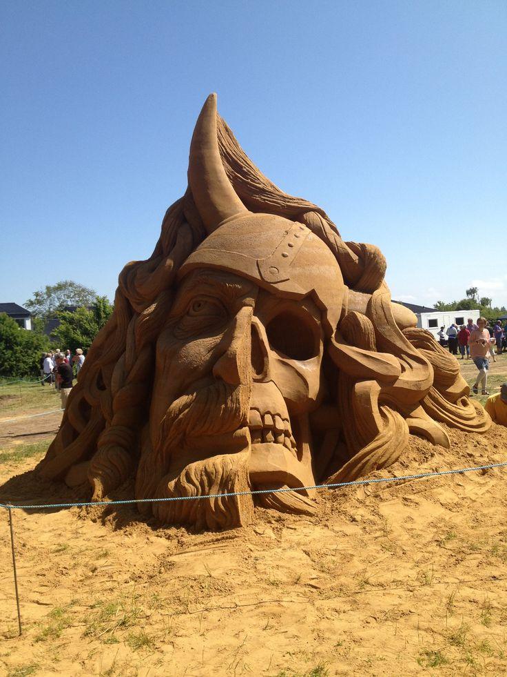 Blokhus Sand Sculpture Festival - Thor