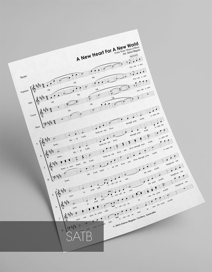 Arranged for SATB A Cappella Mixed Voices  Difficulty: Intermediate  Genre: Religious, Mass Song  Use in: Mass Celebration