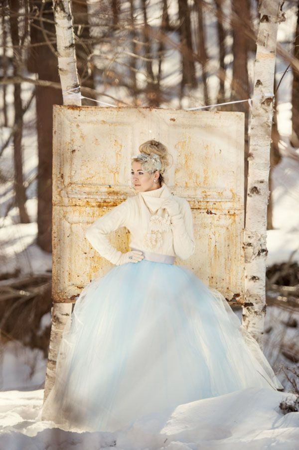 winter wonderland wedding south africa%0A Winter Chic  u     Cozy White and Blue Forest Wedding