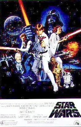1977 Star Wars Original US Style C Film Poster. £1250 at Vintage Seekers.