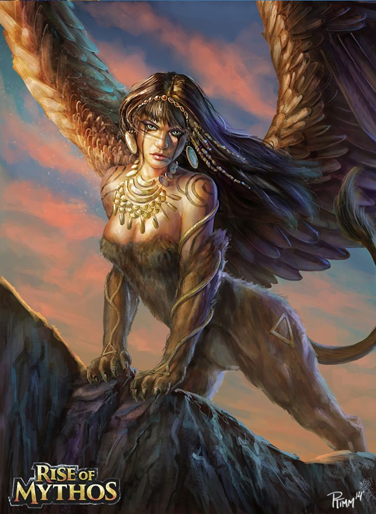 I want a tattoo of a sphinx that combines elements from all of these!