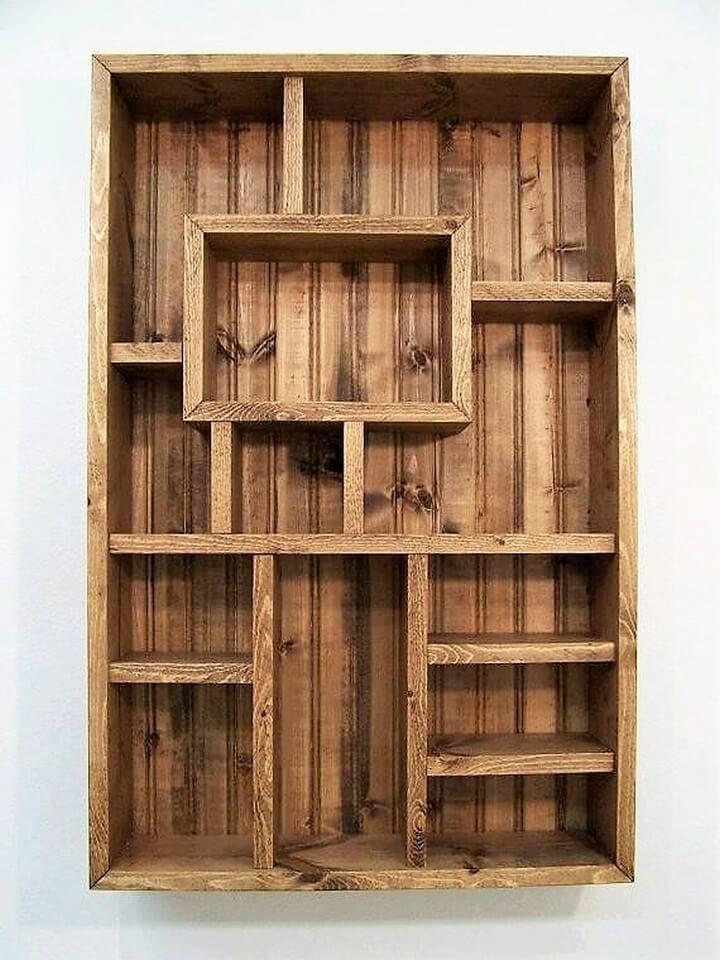 Shelving Ideas best 20+ pallet shelves ideas on pinterest | pallet shelving