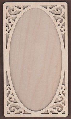 WT1878-Laser cut Scroll Corner 2 Piece Frame Kit