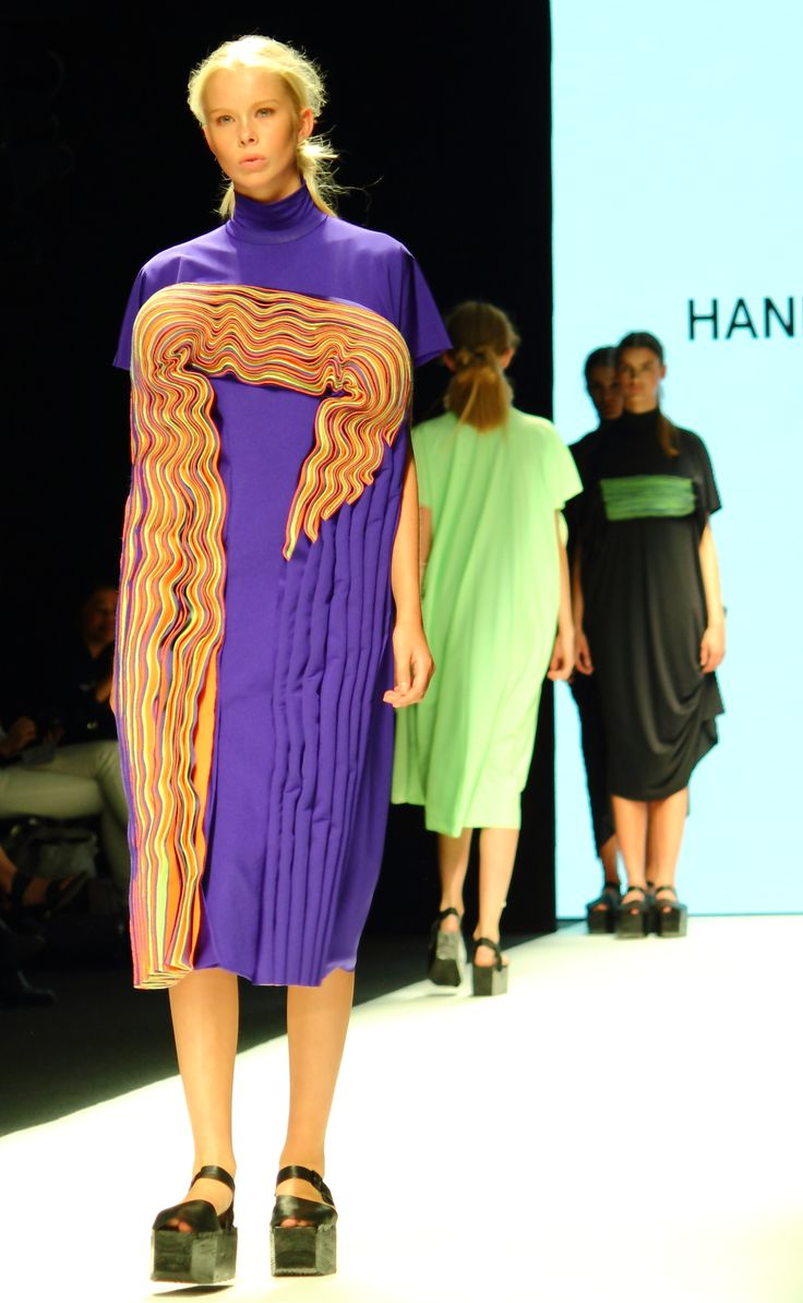 Stockholm Fashion Week Sprin/Summer 2015. Designer: Hanna Freese. Photo: Sampo Axelsson
