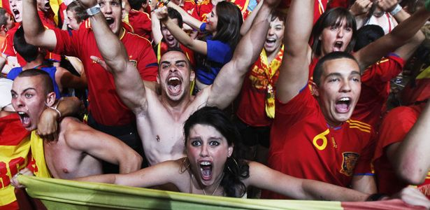 Why being an obsessed soccer fan can make you really, really happy