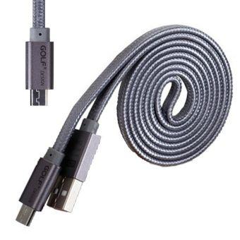 รีวิว สินค้า GOLF 2A 1M Micro USB Cable Flat Braided Wire Sync Charging Data Transfer For Samsung/Android สายถักแบนยาว 1 เมตร (สีเทา) ✓ กระหน่ำห้าง GOLF 2A 1M Micro USB Cable Flat Braided Wire Sync Charging Data Transfer For Samsung/Android สายถักแ ก่อนของจะหมด | codeGOLF 2A 1M Micro USB Cable Flat Braided Wire Sync Charging Data Transfer For Samsung/Android สายถักแบนยาว 1 เมตร (สีเทา)  แหล่งแนะนำ : http://product.animechat.us/eIQRq    คุณกำลังต้องการ GOLF 2A 1M Micro USB Cable Flat Braided…