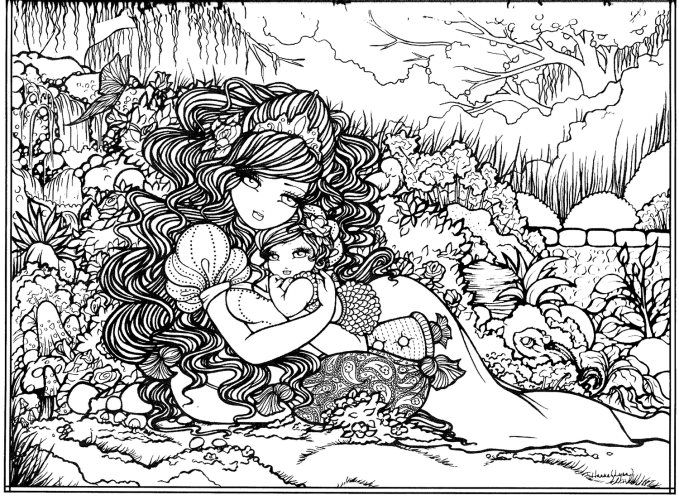 hannah coloring pages - 94 best hannah lynn coloring images on pinterest hannah