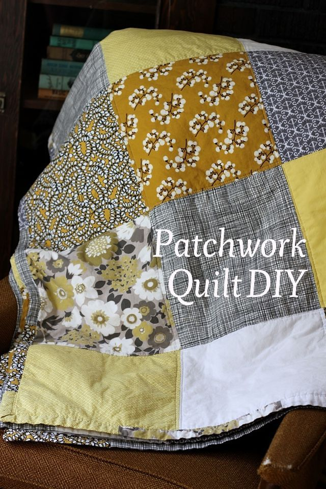 gotta get started on my first quilt! // lovely tutorial on how to sew a patchwork quilt via smileandwave.typepad.com