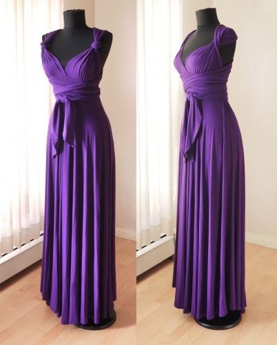 Multi wear infinity maxi dress