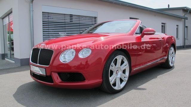 Bentley Continental GTC V8 *21Zoll*Convenience* als Cabrio/Roadster in Werneck