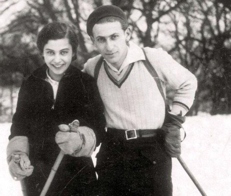 Miklos Radnoti and his wife, Fanni