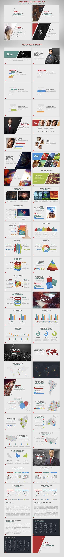 Modern business slide deck presentation for Keynote. Lots of picture slides.