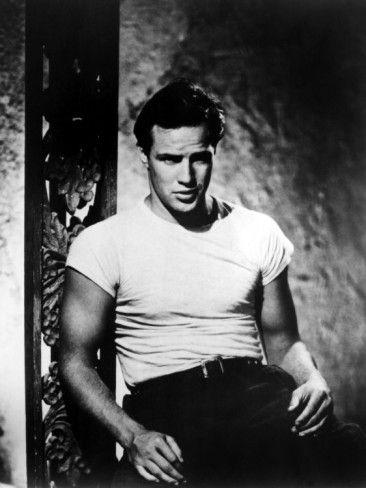 A Streetcar Named Desire, Marlon Brando, 1951 , a brooding Marlo Brando!
