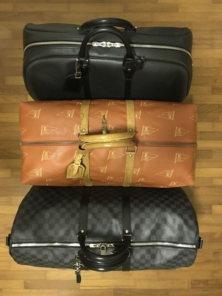 Which one to bring on my next trip? Taiga Kendall GM, Louis Vuitton Cup Kabul Boston 2 Way or Damier Graphite Keepall 55?