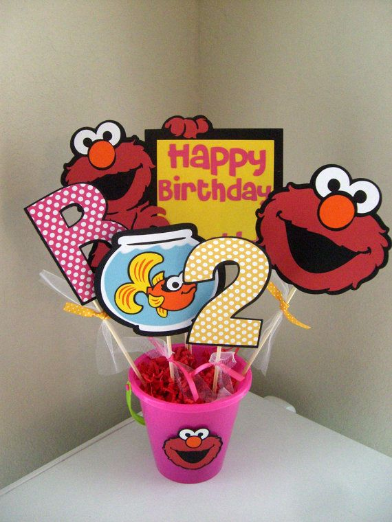 61 best diy elmo themed party ideas images on pinterest birthdays elmo centerpiece pick your colors by mitzscreations on etsy find this pin and more on diy elmo themed party ideas solutioingenieria Images
