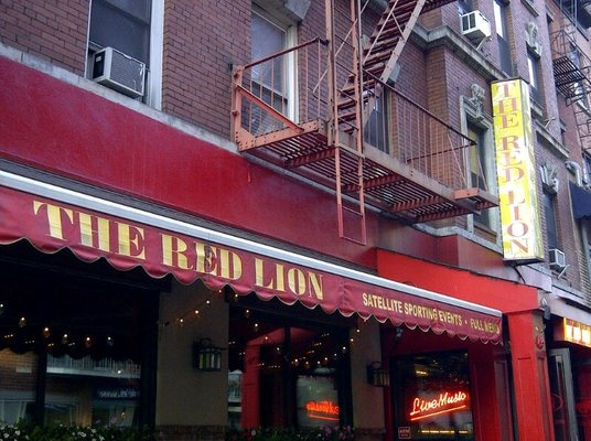 The Red Lion, Greenwich Village, NYC